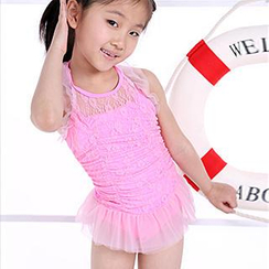 Zeta Swimwear - Kids Lace Swimdress