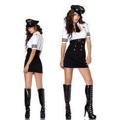 Cosgirl - Flight Attendant Party Costume Set