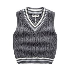 Kido - Kids V-Neck Knit Vest