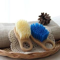 三木青禾 - 实木柄去污软毛刷