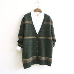 Ranche - Patterned Chunky Cardigan
