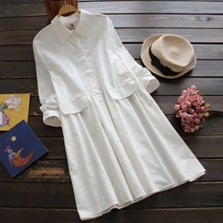 YOYO - Long-Sleeve Shirtdress