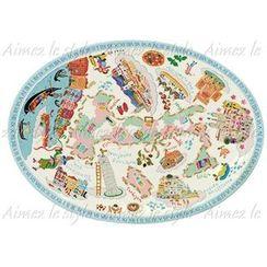 Aimez le style - Aimez le style Oval Plate Italian Journey
