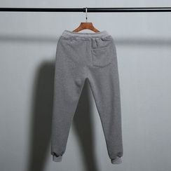 AOBIN - Plain Sweatpants