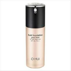 O HUI - Fluid Foundation Glow Finish SPF 25 PA++ 30ml ( # 02 )