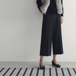 Ranche - Wide Leg Cropped Pants