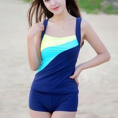 Charmaine - Colour Block Swimsuit