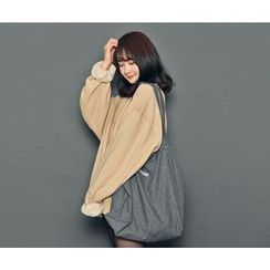 HOTPING - Fleece-Lined Colored Pullover