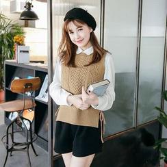 Tokyo Fashion - Cable Knit Vest