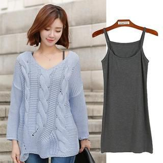 CLICK - Long Camisole Top