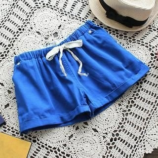 Flower Idea - Drawstring Shorts
