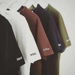 Soulcity - Short-Sleeve Lettering T-Shirt