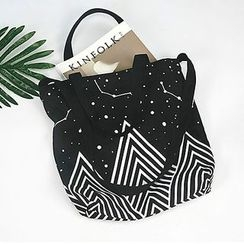 Ms Bean - Printed Shopper Bag