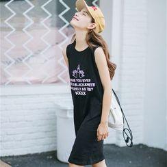 Porta - Letter Tank Dress