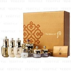 The History of Whoo - Hwa Hyun Special Set (7 items): Cream 60ml + 10ml + Eye Cream 5ml + Balancer 25ml + Lotion 25ml + Essence 8ml + 5ml