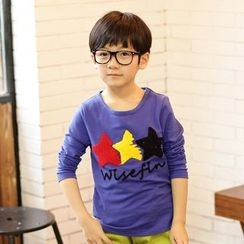 Lullaby - Kids Star Printed Long-Sleeve T-shirt