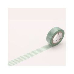 mt - mt Masking Tape : mt 8P Broken Line Green (8 Pieces)