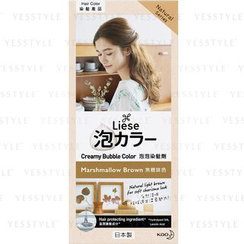 Kao - Liese Creamy Bubble Hair Color (Marshmallow Brown)
