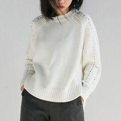 Haco Studio - Open-Knit Sweater