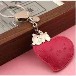 MILESI - Heart Keychain