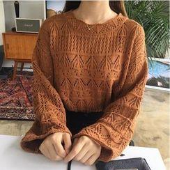 Deedlit - Open-Knit Sweater