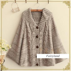 Fairyland - Cable-Knit Cape