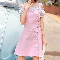 Rosehedge - Denim Jumper Skirt