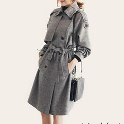 Aurora - Double-Breasted Trench Coat