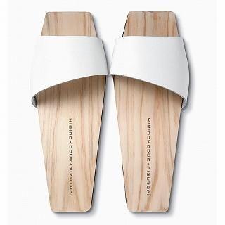 Mizutori - Hinoki Hakimono Wood Sandals