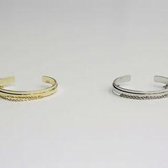 NANING9 - Chain Layered Cuff-Bracelet