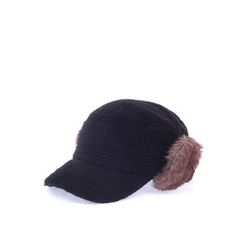 Ohkkage - Faux-Fur Ear-Flap Cap