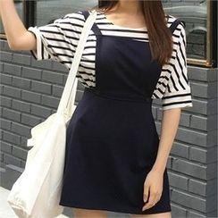 QNIGIRLS - Mini Jumper Skirt