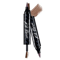 CLIO - Tinted Tattoo Kill Brow : Tattoo Pen + Brow Mascara (#02 Soft Brown)
