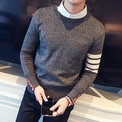 ZZP HOMME - Colour Block Knit Top