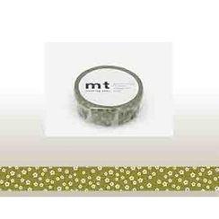 mt - mt Masking Tape : mt 1P Plum Blossom (Green)