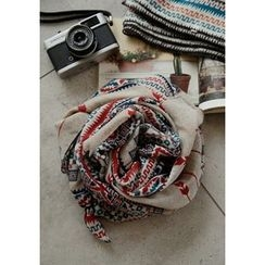 GOROKE - Pattern Light Long Scarf