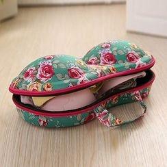 Evorest Bags - Floral Print Bra Case