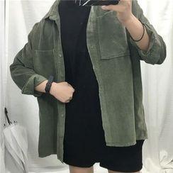Cloud Nine - Corduroy Shirt Jacket