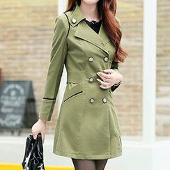 Donnae - Double Breasted Trench Coat