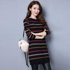 Romantica - Striped Knit Tunic