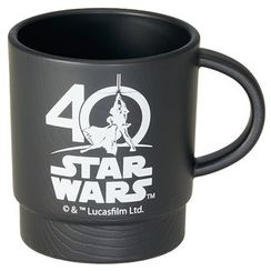 Skater - Star Wars 40th Stacking Plastic Cup (Black)