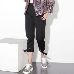 Ultra Modern - Plain Cropped Pants