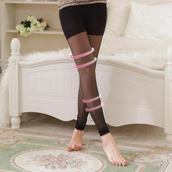 Giselle Shapewear - Fleece-Lined Shaping Leggings