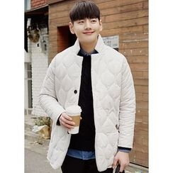 JOGUNSHOP - Button Quilted Coat