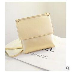 LineShow - Half-Flap Crossbody Bag