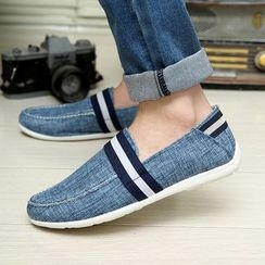 Artree - Striped Loafers