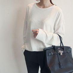 NANING9 - Cotton Blend T-Shirt