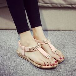 Zandy Shoes - Thong Sandals