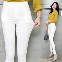 伊之戀 - 純色內搭褲