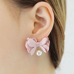 缀好 - 蝴蝶结耳环